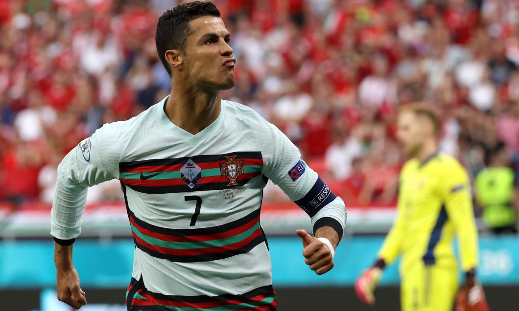 Cristiano Ronaldo, în Ungaria - Portugalia de la EURO 2020 / Foto: Getty Images