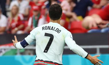 Cristiano Ronaldo, în meciul Ungaria - Portugalia / Foto: Profimedia