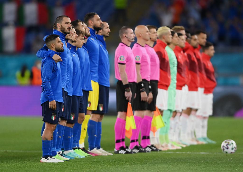 Italia - Elveția 1-0 la pauză în Grupa A de la EURO 2020. Locatelli a marcat golul squadrei azzurra