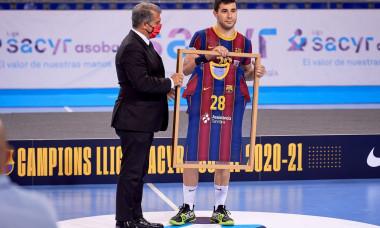 Liga Asobal : FC Barcelona vs Frigorificos Morrazo