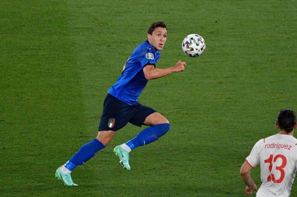 Italy v Switzerland, Euro 2020, Group A, Football, Stadio Olimpico, Rome, Italy - 16 Jun 2021