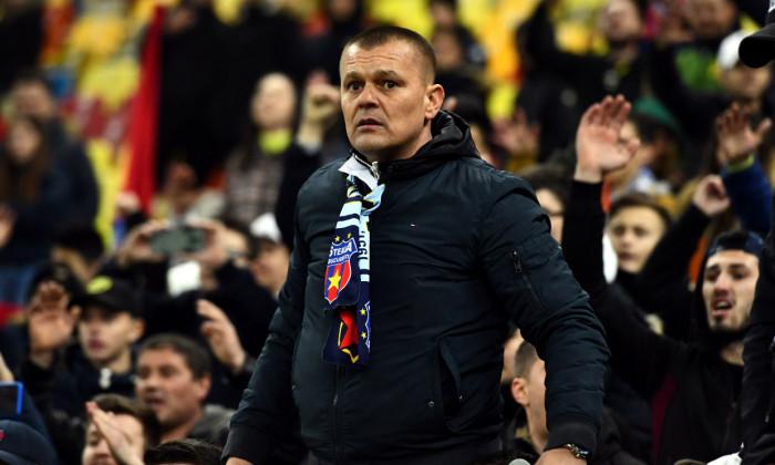 Gheorghe Mustață, liderul suporterilor FCSB-ului / Foto: Sport Pictures