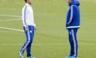 Chelsea Football Club training session, Cobham, Britain - 29 Oct 2015