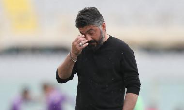 Gennaro Gattuso, în perioada în care antrena la Napoli / Foto: Getty Images