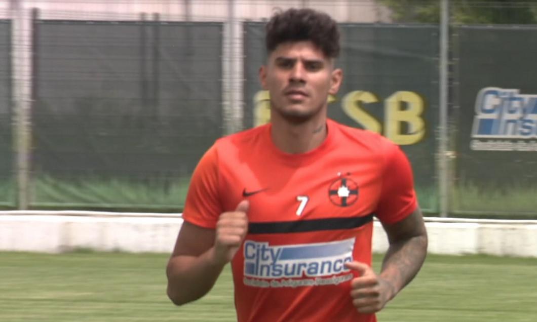 Antrenament FCSB Florinel Coman