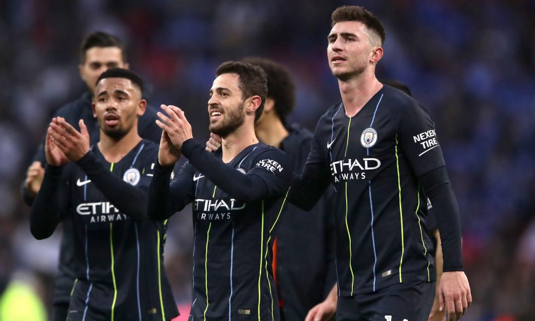 Manchester City v Brighton and Hove Albion - FA Cup - Semi Final - Wembley Stadium