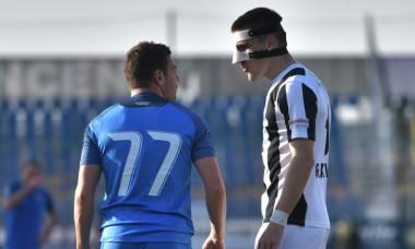 Adi Popa și Daniel Grahovac, în Academica Clinceni - Astra / Foto: Sport Pictures