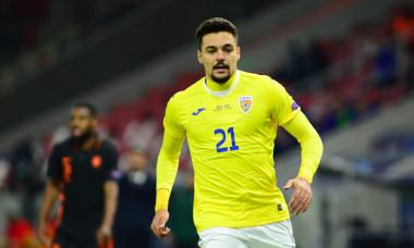 Adrian Petre, în tricoul echipei naționale de tineret, la EURO 2021 / Foto: Sport Pictures