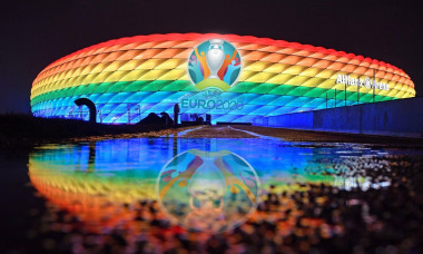 PHOTOMONTAGE: Will Muenchen stay the EM host? The European Football Union has increased the pressure on the German EM location Munich and set a deadline for a spectator guarantee. Today 23.04. Uefa wants to decide whether Munich will remain the venue for