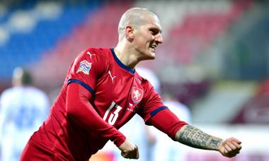 Fotbal - Reprezentace - Liga národů - ČR - Slovensko, 2:0, 18. 11. 2020