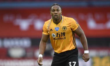 Adama Traore, în tricoul lui Wolverhampton / Foto: Getty Images
