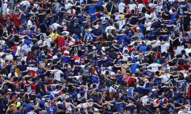 Suporteri francezi, la Budapesta / Foto: Getty Images