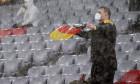 Ploaie torențială la Munchen, la meciul Germania - Ungaria / Foto: Getty Images