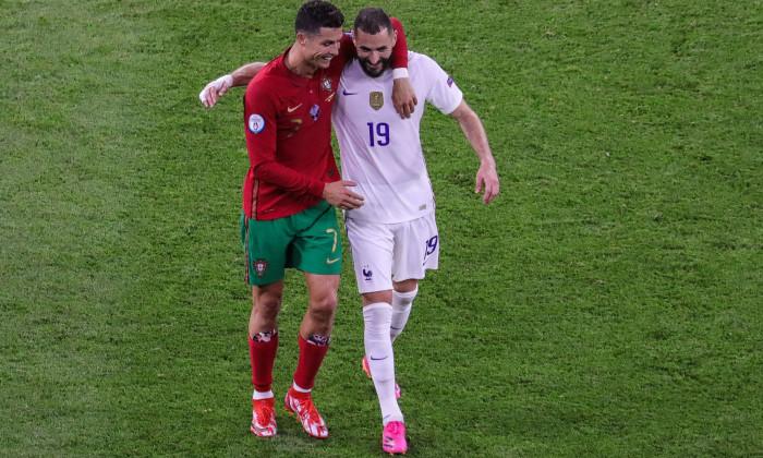 Portugal v France, European Championship Euro 2020, Budapest, Hungary - 23 Jun 2021