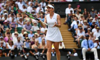 Simona Halep, la Wimbledon, în 2019 / Foto: Getty Images