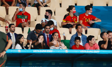 UEFA European Football Championship UEFA EURO 2020, Round of 16 - Belgium vs Portugal, Seville, Spain - 27 Jun 2021
