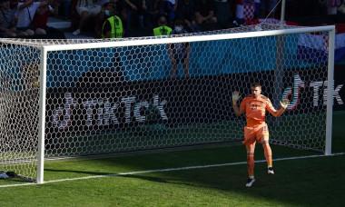 Croatia v Spain Euro 2020 match, round of 16. Football, Parken Stadion, Copenhagen, Denmark - 28 Jun 2021