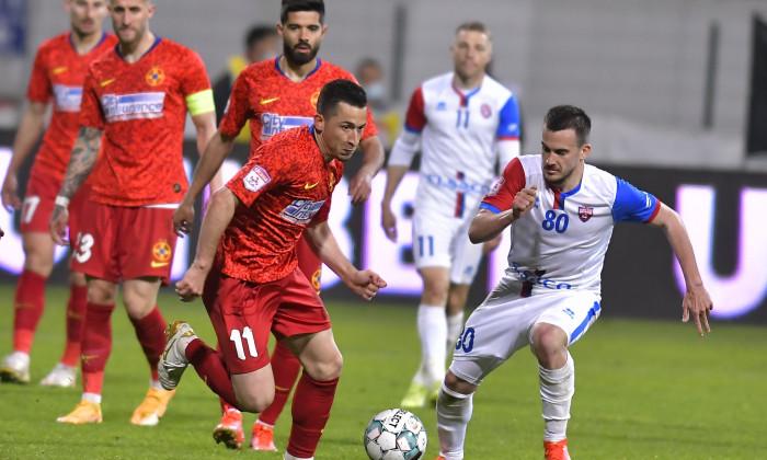 FOTBAL:FC BOTOSANI-FCSB, PLAY OFF LIGA 1 CASA PARIURILOR (6.05.2021)