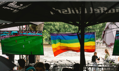 German Football Fans Watch The 2020 Euro Match Between Germany Vs England In Cologne - 29 Jun 2021