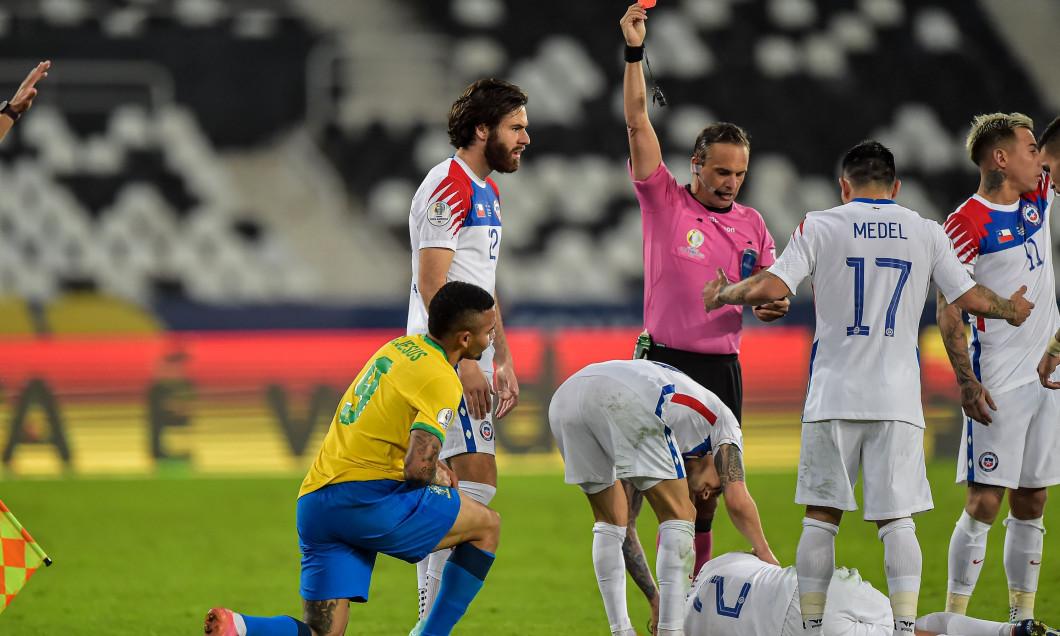 Brazil v Chile: Quarterfinal - Copa America Brazil 2021, Rio De Janeiro - 02 Jul 2021