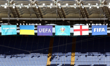 Ukraine Training - Stadio Olimpico - Friday July 2nd