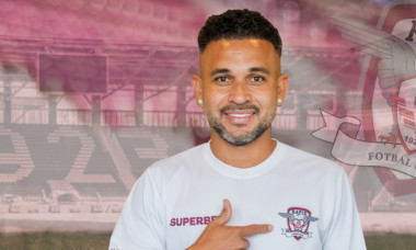 Junior Morais a semnat cu Rapid / Foto: Facebook@FCRapid1923oficial