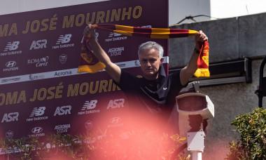 Jose' Mourinho arrives in Trigonia, Rome, Italy - 02 Jul 2021