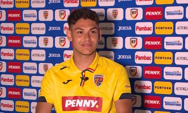 Antonio Sefer, fotbalistul Rapidului / Foto: Captură Youtube@FRF TV
