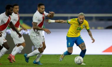 Brazil v Peru, Copa America, Semi-final, Football, Estadio Nilton Santos, Rio de Janeiro, Brazil - 05 Jul 2021