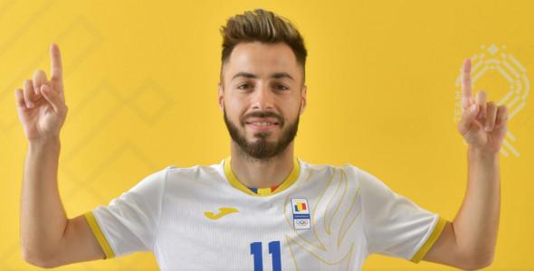 Andrei Ciobanu, fotbalistul de la Farul / Foto: FRF.ro