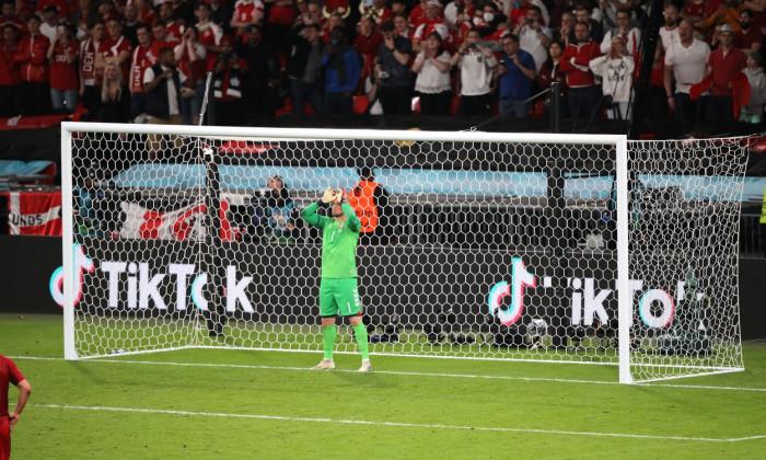 England v Denmark, UEFA European Championship 2020 Semi-final, International Football, Wembley Stadium, London, UK - 07 Jul 2021