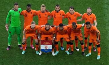 Match de football de l'Euro 2020 : Les Pays-Bas s'inclinent face ŕ la République Tchčque (0-2) au Stade Ferenc-Puskas