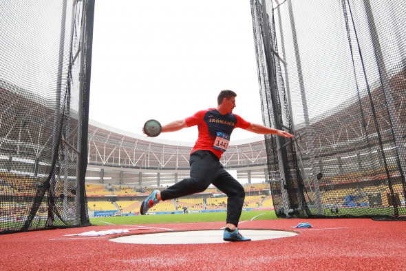 (SP)CHINA-WUHAN-7TH MILITARY WORLD GAMES-TRACK & FIELD