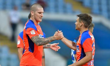 Zdenek Ondrasek și Cristi Dumitru, în meciul FC Buzău - FCSB / Foto: Sport Pictures