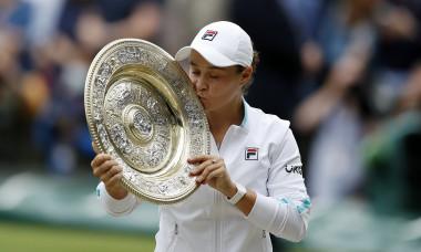 Ashleigh Barty a câștigat Wimbledon 2021 / Foto: Getty Images
