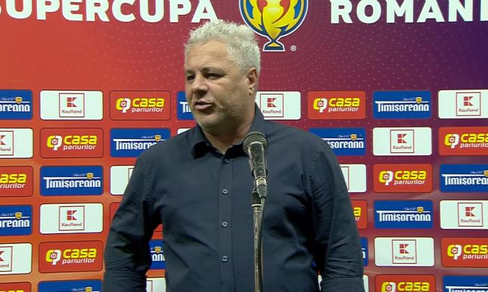 Marius Șumudică, antrenorul de la CFR Cluj / Foto: Captură Digi Sport