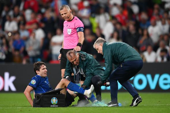 Federico Chiesa a acuzat probleme medicale în finala EURO 2020 / Foto: Getty Images