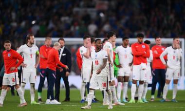 Raheem Sterling, după meciul Italia - Anglia / Foto: Getty Images