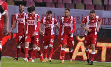 FOTBAL:DINAMO BUCURESTI-FC HERMANNSTADT, PLAY OUT LIGA 1 CASA PARIURILOR (8.05.2021)