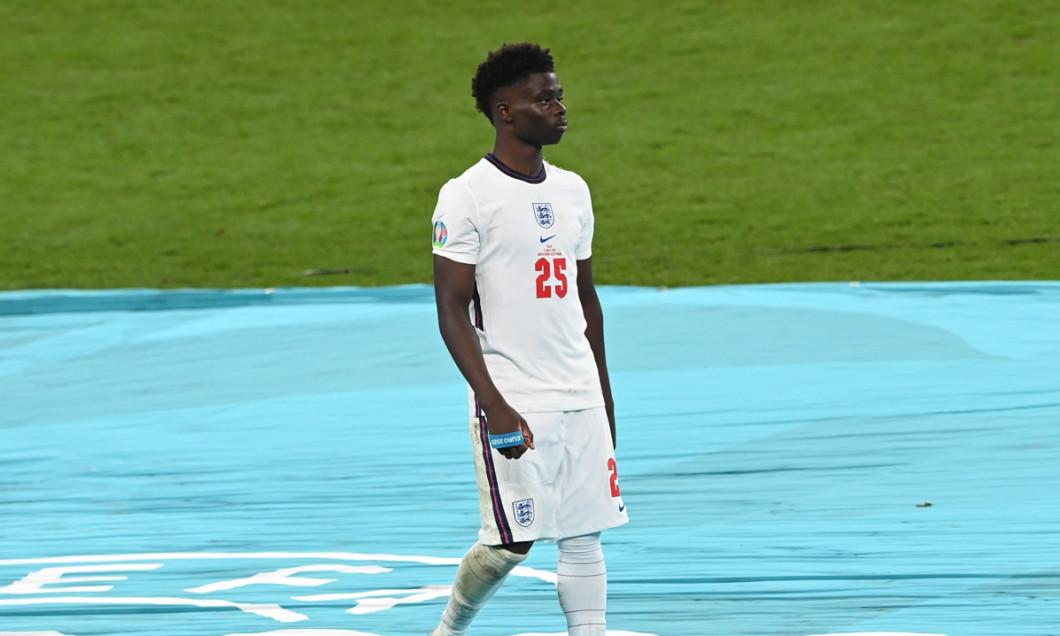 Bukayo Saka a ratat o lovitură de departajare în finala EURO 2020 / Foto: Getty Images
