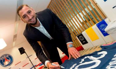 Gianluigi Donnarumma a semnat cu PSG / Foto: PSG.fr
