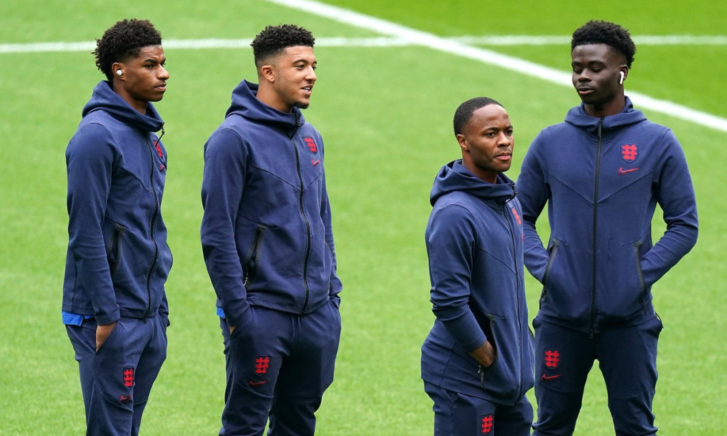 England Players Receive Racist Abuse file photo