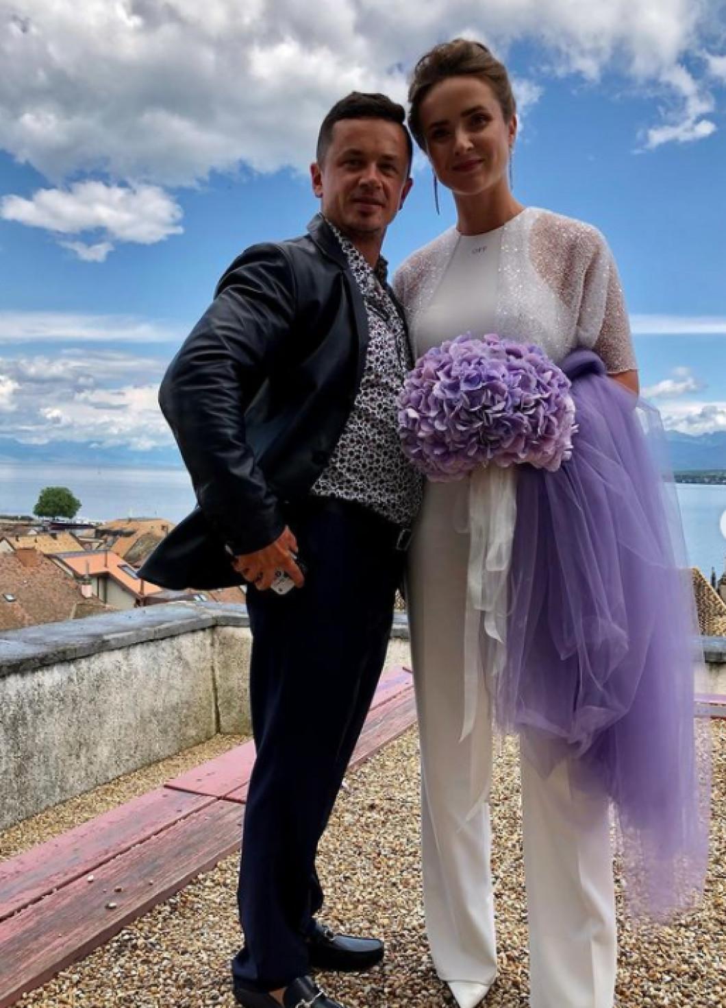 Imagini de la nunta lui Gael Monfils și Elina Svitolina / Sursă Foto : Instagram @svitolin_