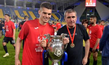 Ianis și Gică Hagi/ Foto: Sport Pictures