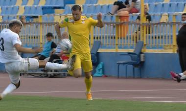 Yuri, eliminat în Gaz Metan - CS Mioveni / Foto: Captură Digi Sport