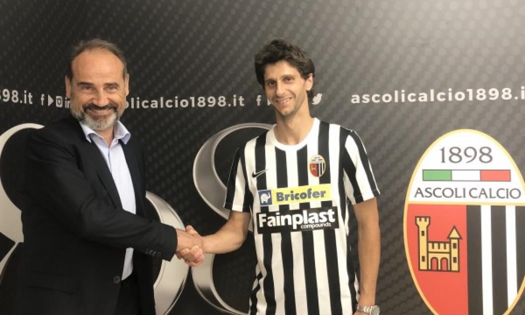 Diego Fabbrini a semnat cu Ascoli / Foto: ascolicalcio1898.it