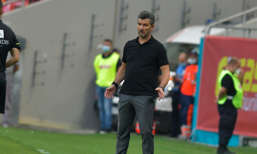 Marinos Ouzonidis, antrenorul Universității Craiova / Foto: Sport Pictures