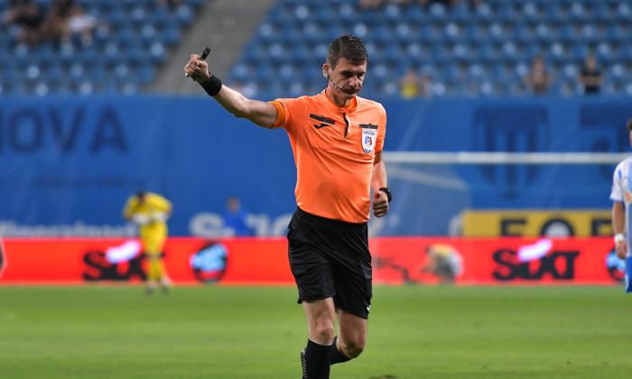 Horia Mladinovici, în meciul Universitatea Craiova - FC Argeș / Foto: Sport Pictures