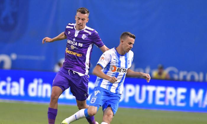 FOTBAL:UNIVERSITATEA CRAIOVA-FC ARGES, LIGA 1 CASA PARIURILOR (17.07.2021)