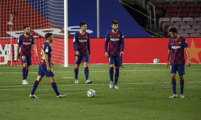 FC Barcelona v CA Osasuna - La Liga, Spain - 16 Jul 2020